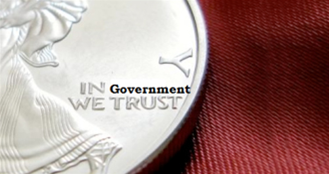 Coin Stating In Government We Trust
